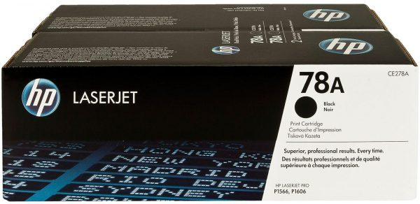 CE278AD - HP Toner Cartridge 78A Black 2.100vel 2st