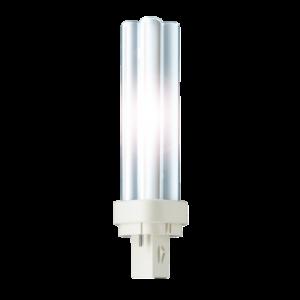 PLC18W830 - PHILIPS Spaarlamp G24 2-pin 18W Kleurnummer: 830